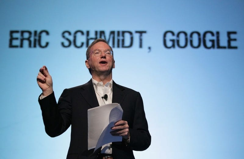 Eric Schmidt Wants a TV Show