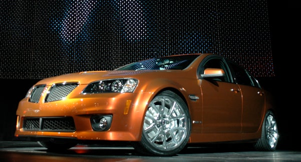 Live From New York, It's The 2009 Pontiac G8 GXP