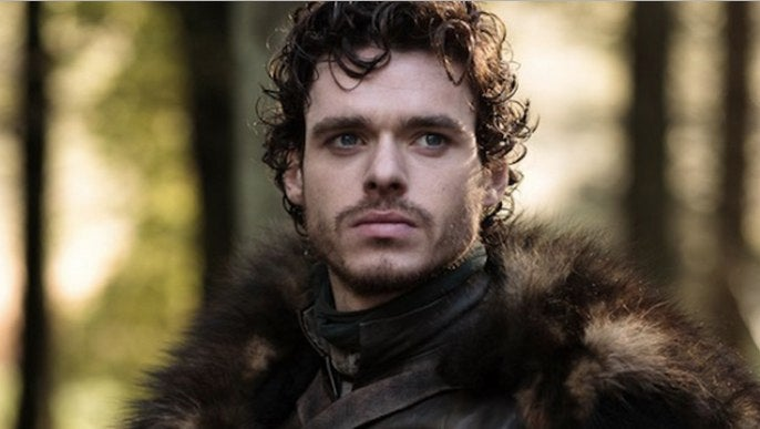 Robb Stark cast as Prince Charming in Cinderella because OBVIOUSLY