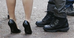 "Trade Union Speaks Out Against ""Sexist"" Heels • Iraq War Limits Iraqi Women's Freedoms"