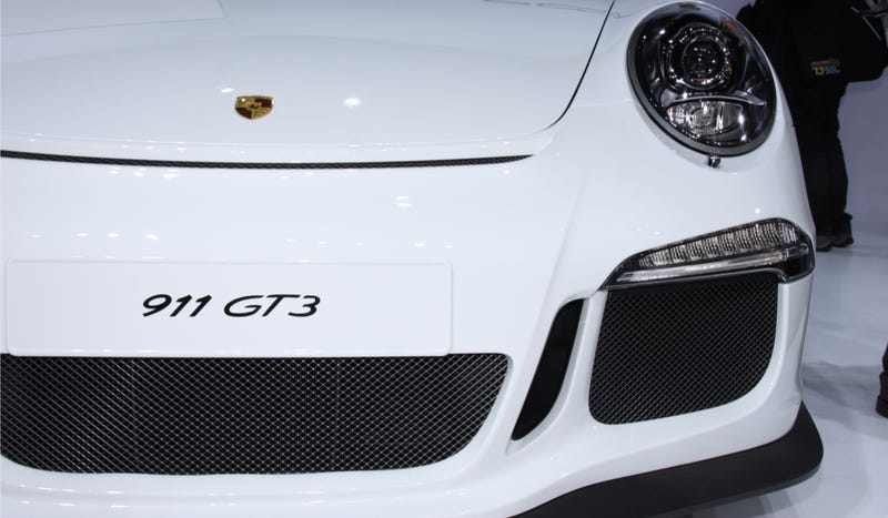 The 2014 Porsche 911 GT3 Is A Boner-Inducing Track Monster