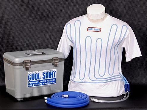 Water-Cooled T-Shirt Makes Air Conditioning Obsolete