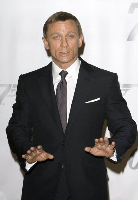 "Daniel ""007"" Craig: Don't Shoot!"