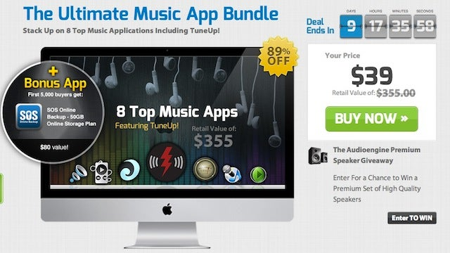 The Ultimate Music App Bundle Gets You TuneUp, Boom, and More for $39