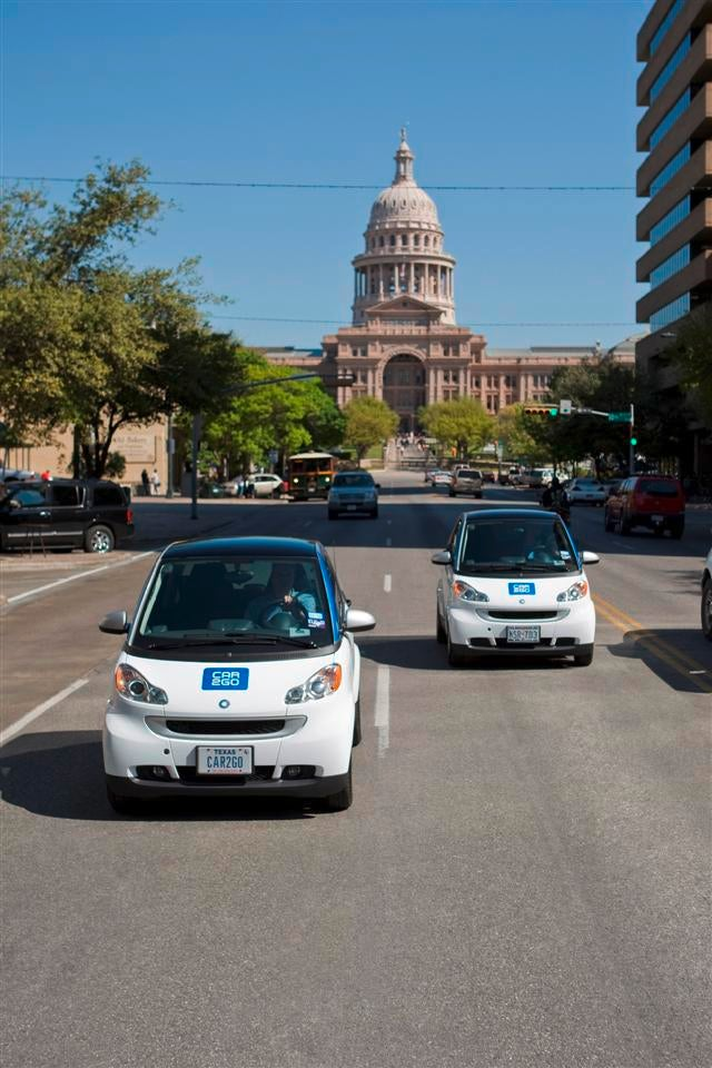Daimler car2go Smart Car Rental Program Launching In Austin This Fall