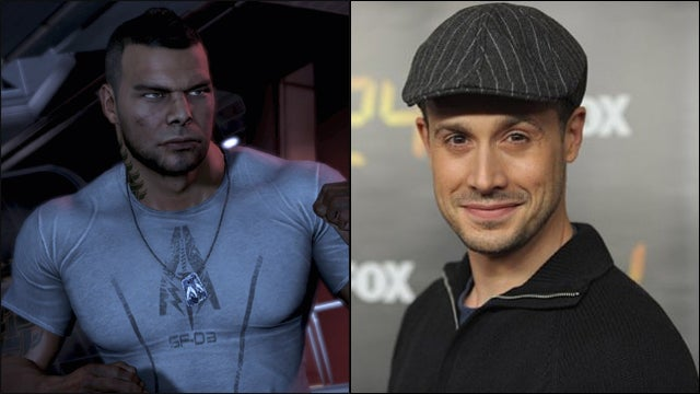 The Faces Behind the Voices of Mass Effect 3