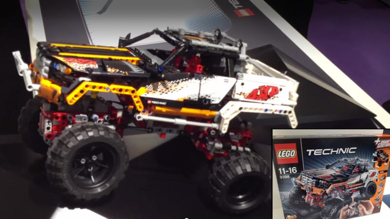 I Must Have Lego's New R/C 4x4 Rock Crawller