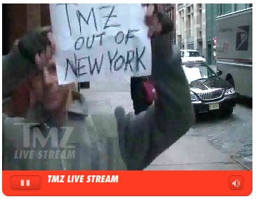 TMZ OUT OF NEW YORK