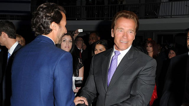 Schwarzenegger's Mistress And Son Hide Out In Texas