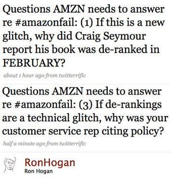 Why Amazon Can't Just Call Gay Blacklist a 'Glitch'