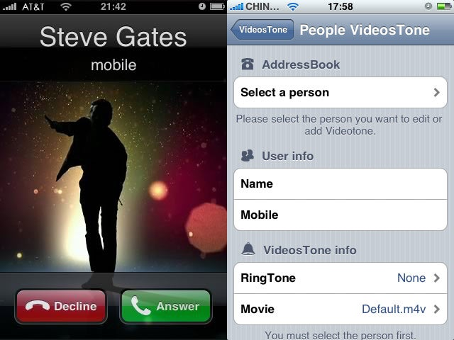 Video Ringtones For iPhone Revolutionize Answering Your Phone