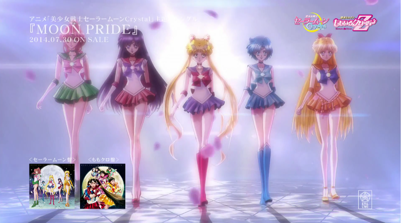 Here's the full opening song for Sailor Moon Crystal