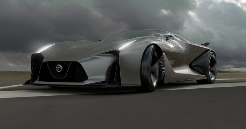The Nissan Concept 2020 Is A Nissan GT-R Hypercar