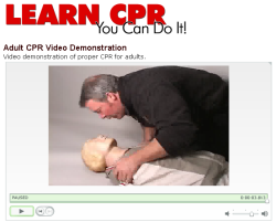 Learn CPR and choking first-aid