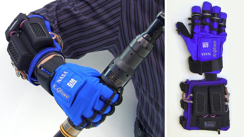 This Iron Man-Like Glove Makes Working With Tools a Hell Of a Lot Easier