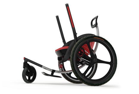 The Wheelchair of the Future Is Like a Bicycle Rowboat