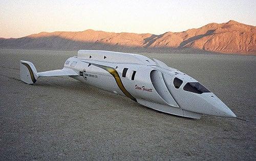 Steve Fossett's Record-Breaking Jet Car Up For Sale