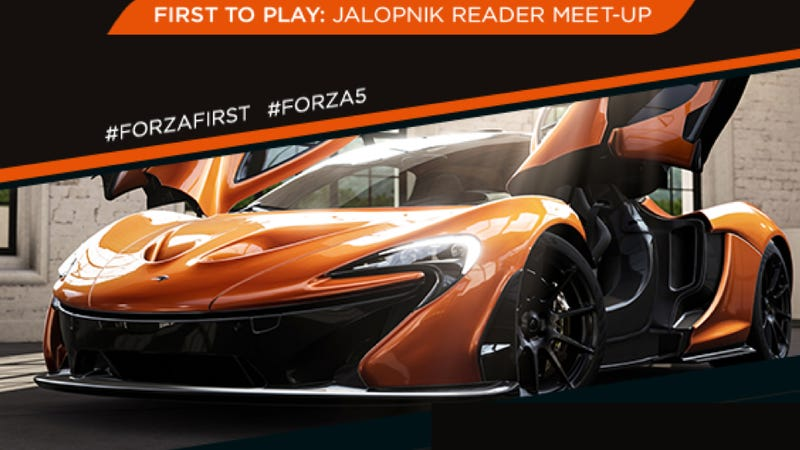 Come To The San Fran Jalopnik Meetup This Sat. And Play Forza 5 First
