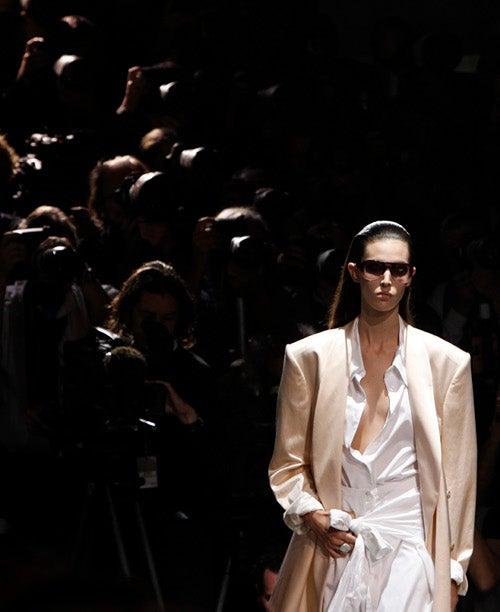 Dries Van Noten Takes The Power Jacket Quite, Uh, Seriously