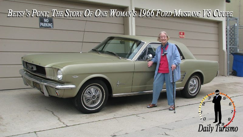 Betsy's Pony; The Story Of One Woman's 1966 Ford Mustang V8 Coupe