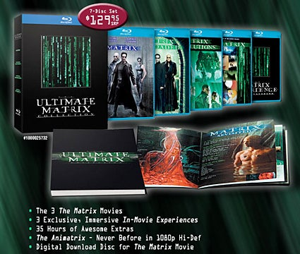 Ultimate Matrix Collection On Blu-ray October 14