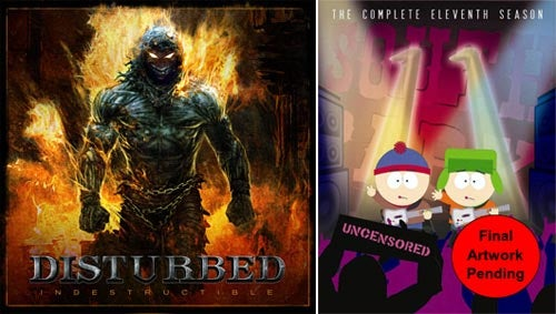 Disturbed, South Park Get Free Rock Band Tracks