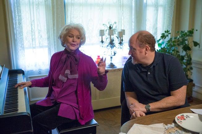 Louie's Three-Hour War to Save Ellen Burstyn Begins Tonight