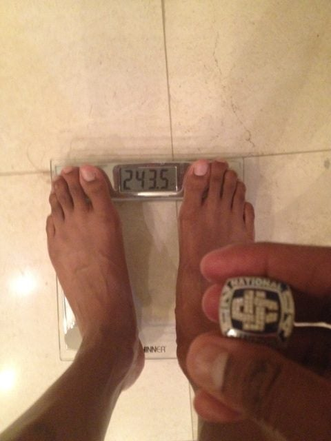 Charlie Villanueva Says He's Not Overweight, Tweets Photo Of His Bathroom Scale