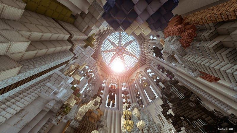 Game of Thrones In Minecraft Is Still Pretty As Hell