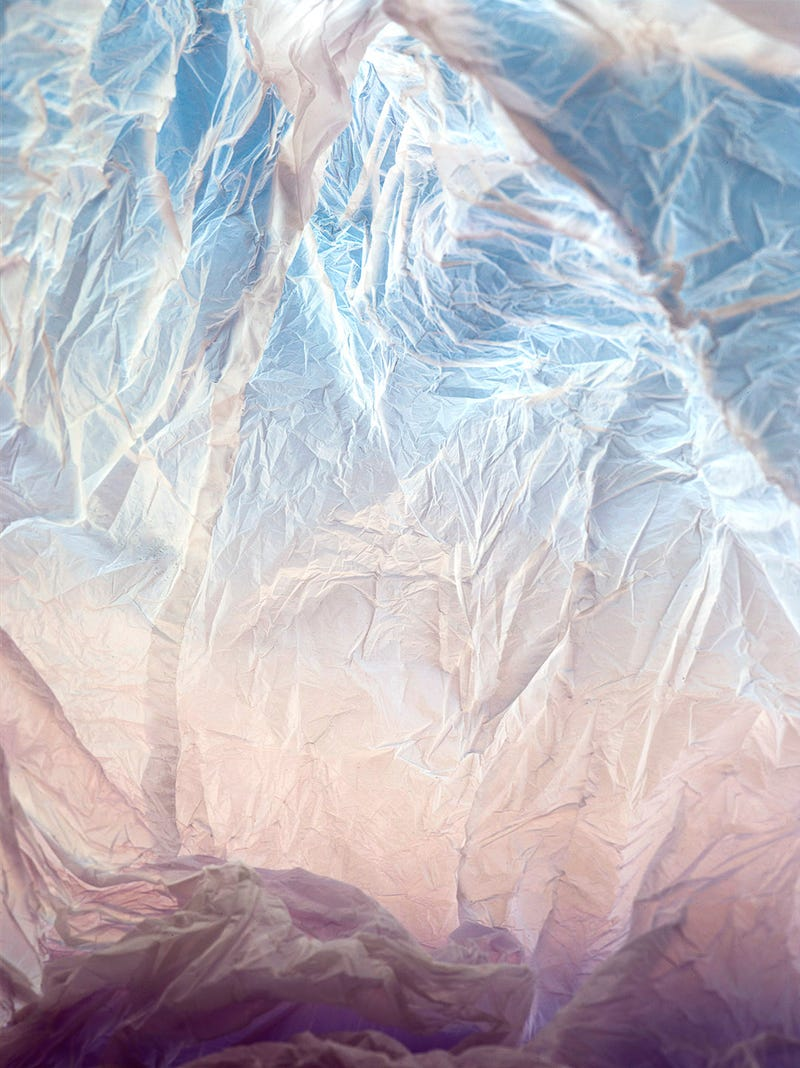 These Magical Landscapes Are Actually Photos of Plastic Bags