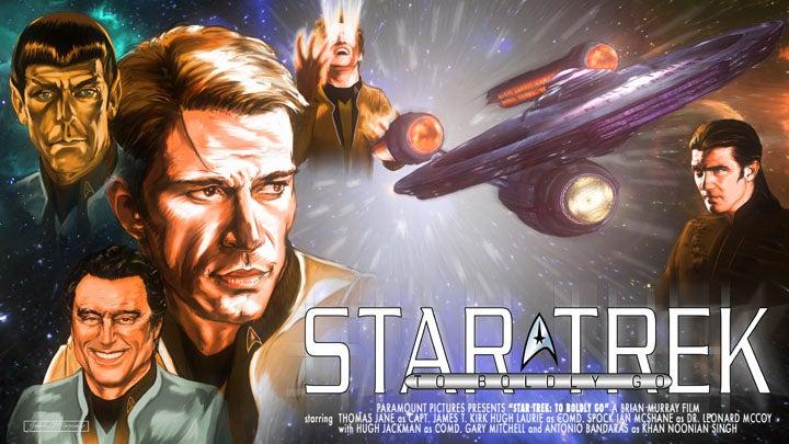 Green Lantern Concept Artist Reimagines Star Trek