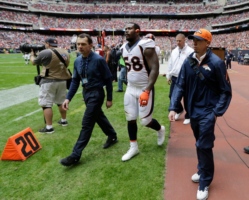 Von Miller's Out For The Season, And The Broncos Are An Injured Mess