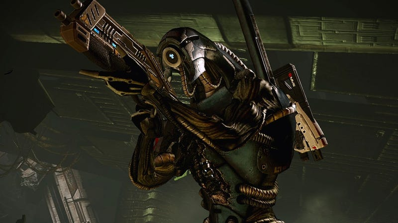 One of the Split Personalities That Went Into the Recording of Mass Effect 3 Dialogue