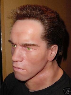 Arnie's Silicone Head