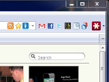 Merge Firefox's Bookmark and Navigation Toolbars to Save Space