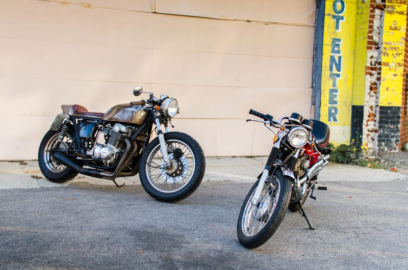 Extinct Car Day + A Couple of Garage Built Motorcycles
