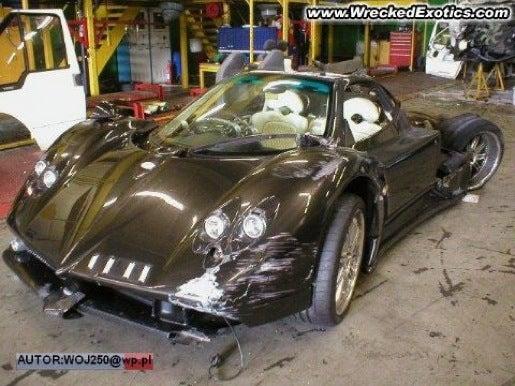 $1 Million Pagani Zonda F Wrecked In Poland