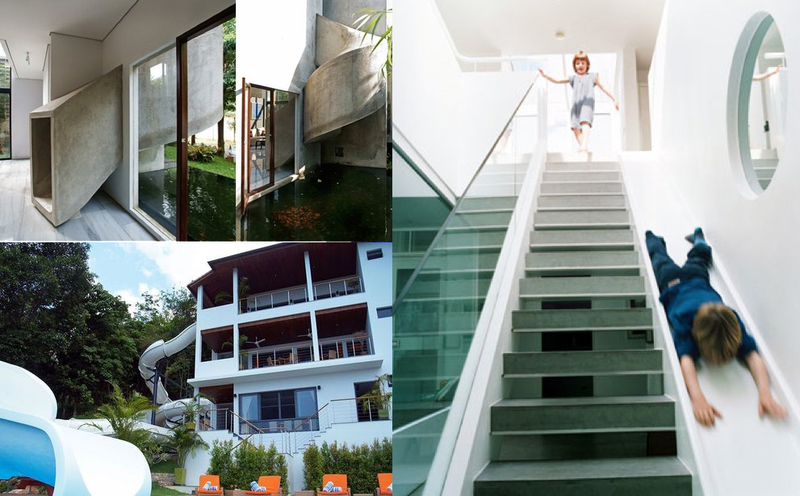 Six Great Houses With Built-In Slides