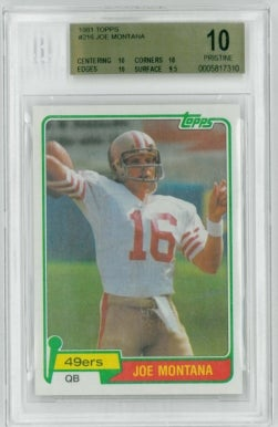 Joe Montana Single-Handedly Keeping The Collectible Card Market Alive