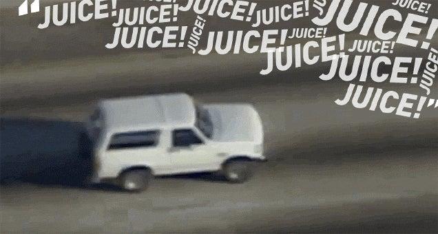 """""""Go, OJ, Go!"""": Liveblogging The White Bronco Chase, 20 Years Later"""