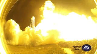 Terrifying New Close-Up Camera Footage of the Antares Rocket Explosion