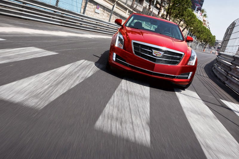The 2015 Cadillac ATS Sedan Dumps The Wreath, Adds Torque