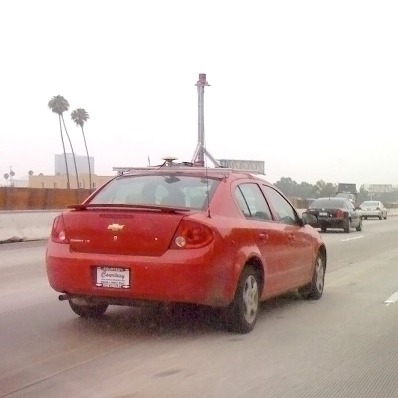 Google Streetview Camera Cars Continue Their US Invasion
