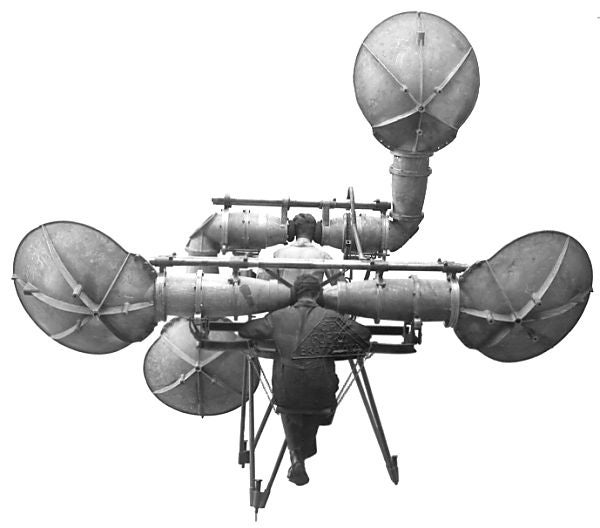 Before Radar, Militaries Used Gigantic Headphones for Land-Based Sonar