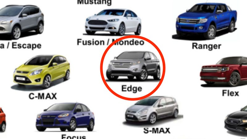 Ford Reveals The Next Generation Edge Totally By Accident
