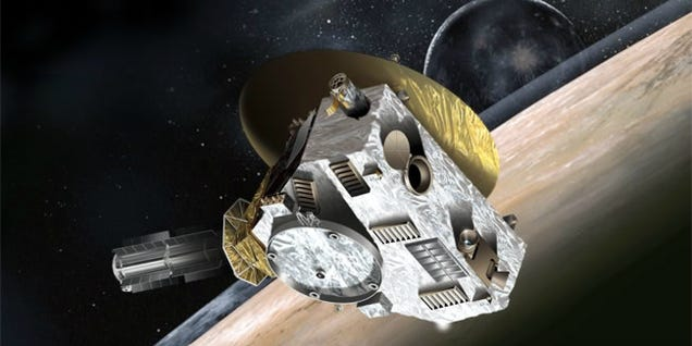 The Spacecraft That Will Finally Give Us a Close-Up View of Pluto