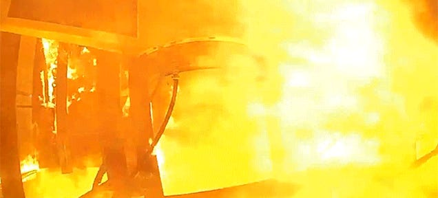 World's Most Badass GoPro Doesn't Even Blink at Up-Close Rocket Testing
