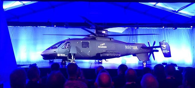 Behold the newest, fastest, most badass attack helicopter in the world