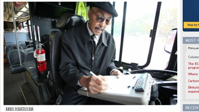 Students Rally Behind Celebrity Bus Driver 'Jazz Man'