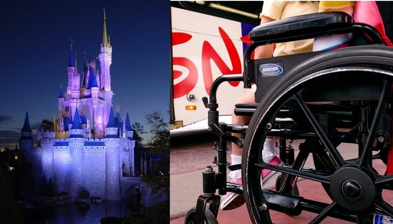 Rich Families Cutting Lines at Disney World By Hiring Disabled Guides